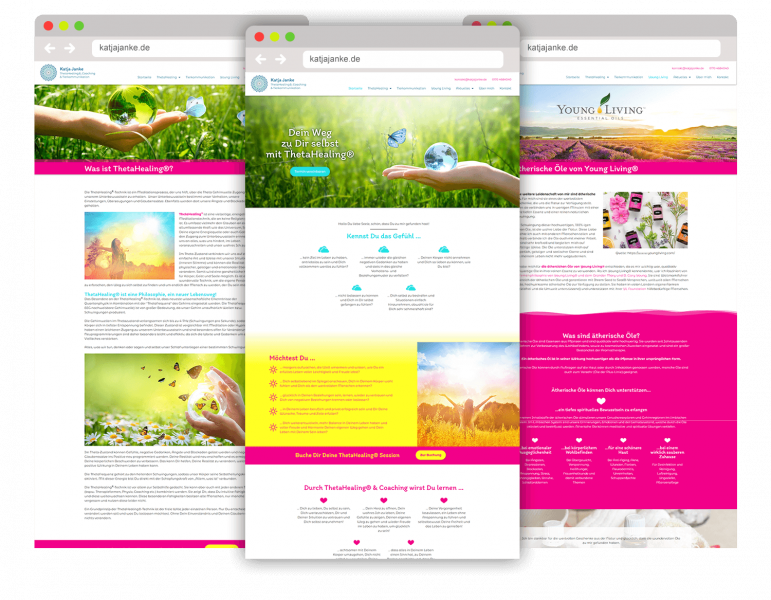 WordPress Webdesign Website Referenz Katja Janke