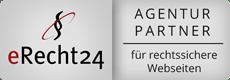 eRecht24 Agenturpartner Siegel