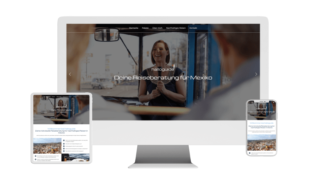 WordPress Webdesign Website Referenz halloguide