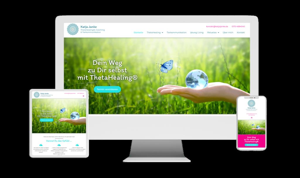 WordPress Webdesign Website Referenz KatjaJanke